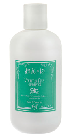 Volume Plus Shampoo gluten free 8.50z - Janie 13 Hair Products best hair products for sulphate free shampoo and gluten free products