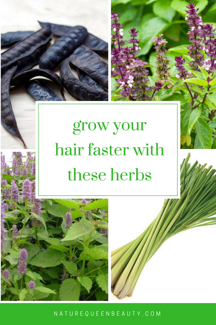 Grow your hair faster with these 4 herbs