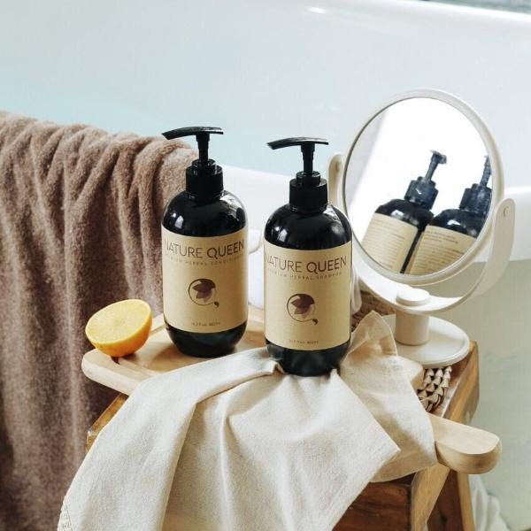 Anti-aging Herbal Shampoo + Conditioner For Hair Loss ...