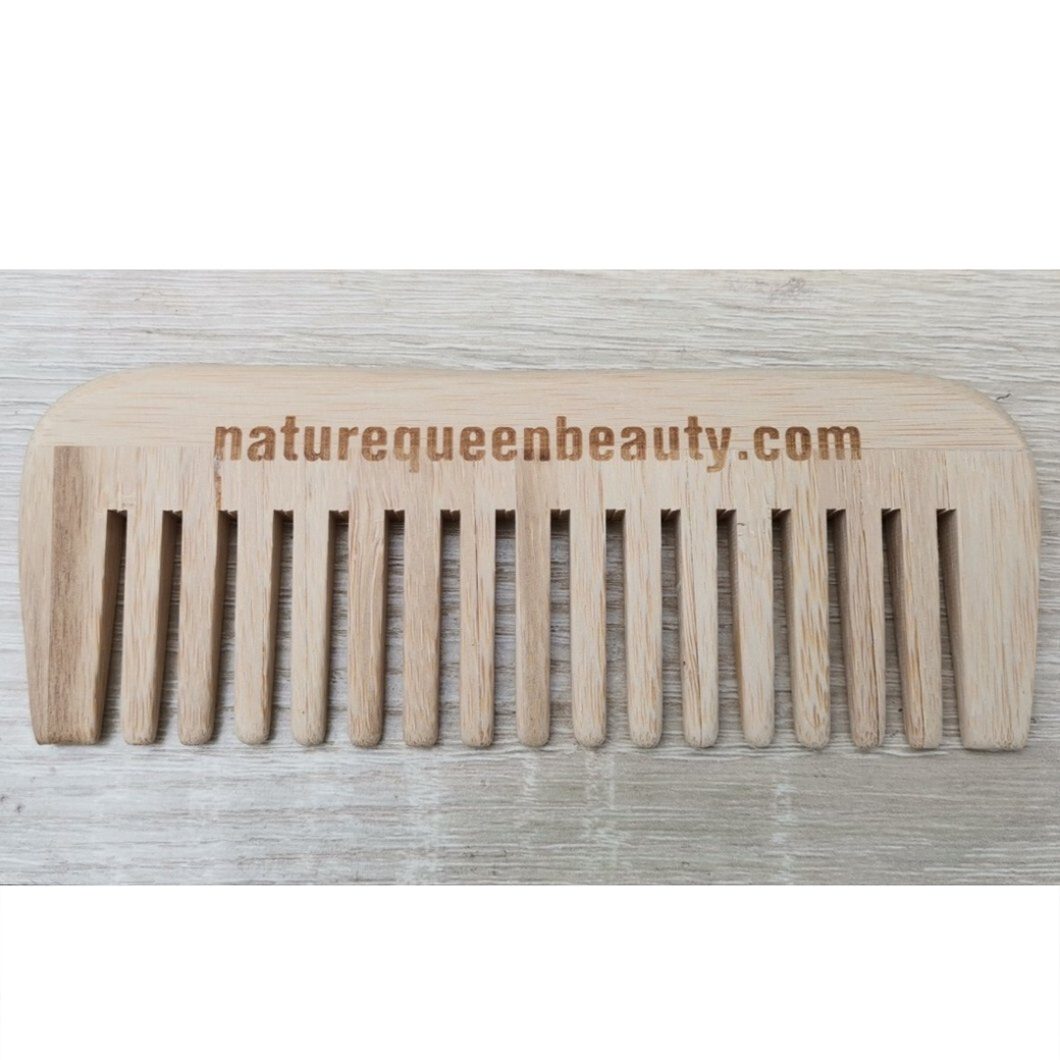 Organic Bamboo Wide Tooth Comb
