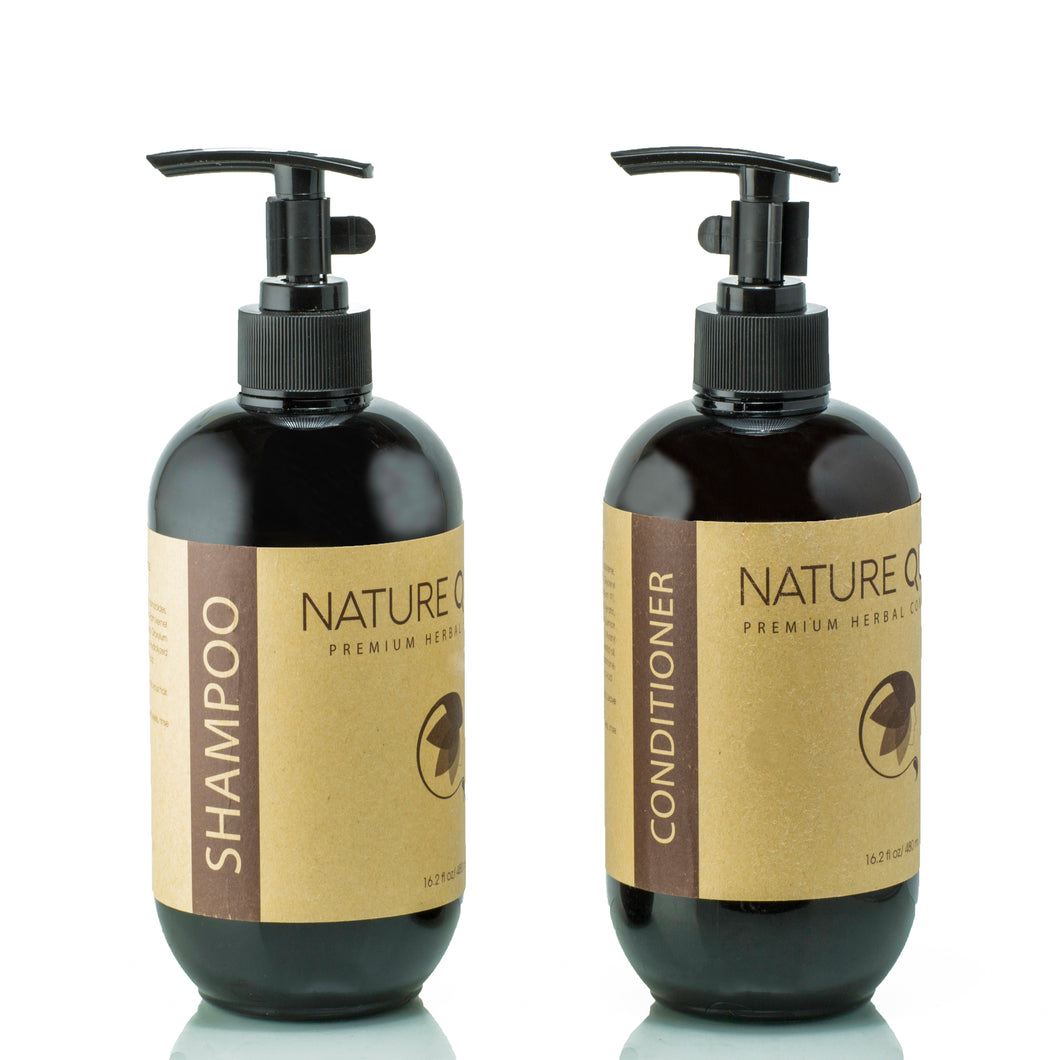 Herbal Shampoo + Conditioner Set (16oz)
