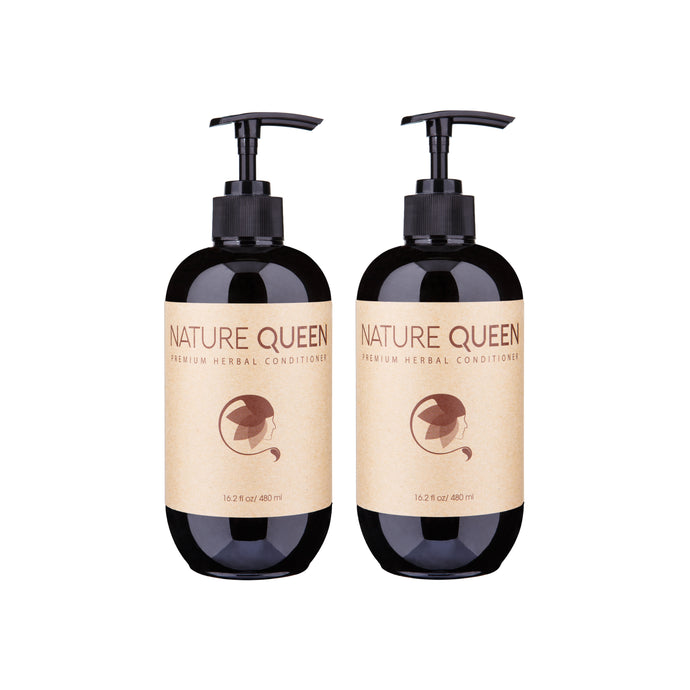 Set of TWO Nature Queen Herbal Conditioner