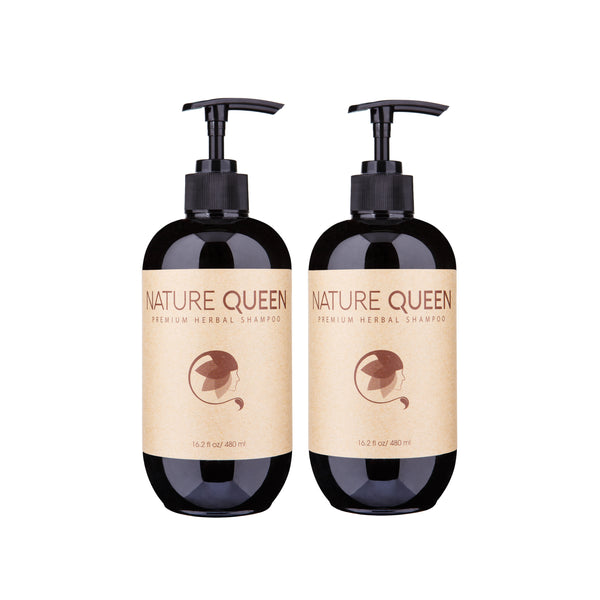 Set of TWO Nature Queen Herbal Shampoos - SOLD OUT