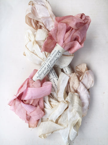 Marie Antoinette hand dyed ribbon collection