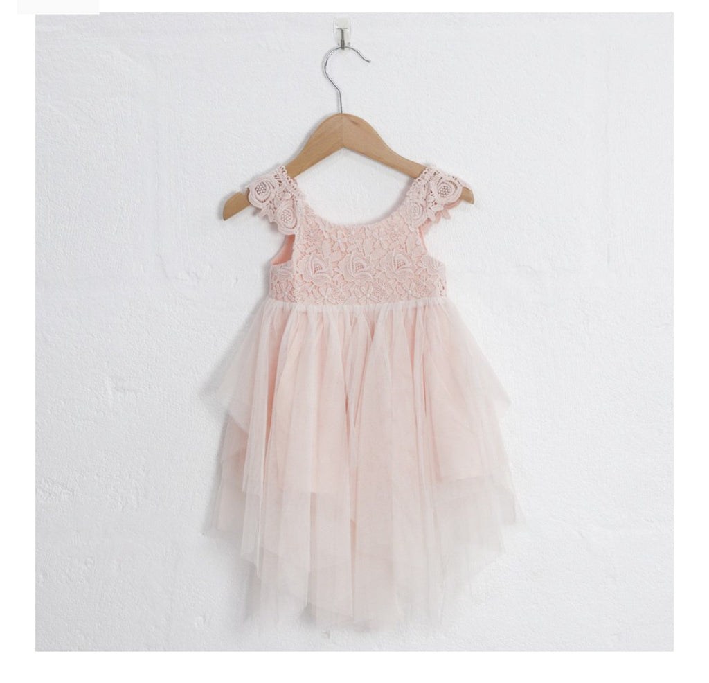 Aurora Fairy dress. pale pink