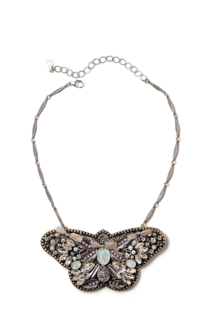Fly  Sweet Butterfly Statement Necklace