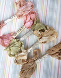 Marie Antoinette set of pastel ribbons.