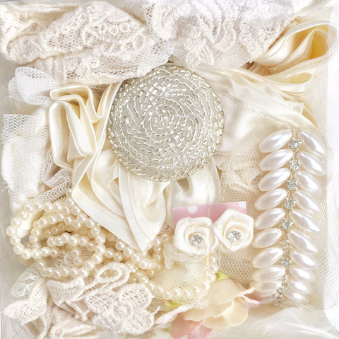 wedding embellishment collections. bridal trims and treasures.