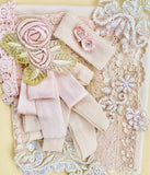 Pastel Pink Embellishment collection.