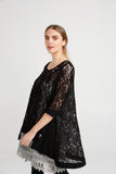 Lily Lace Top. Black