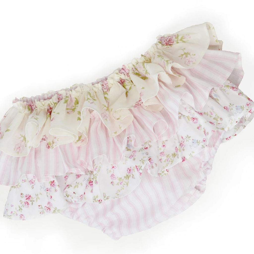 baby floral ruffle pants