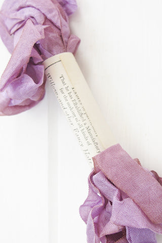 Silk Ribbon in Lilac