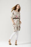 Linen Rosabella Dress  Beige