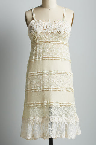 lace slip Olivia lace dress