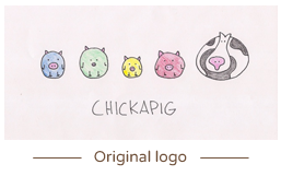 Chickapig strategic board game logo