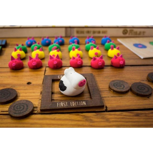 Chickapig Handcrafted Collectible Game Pieces