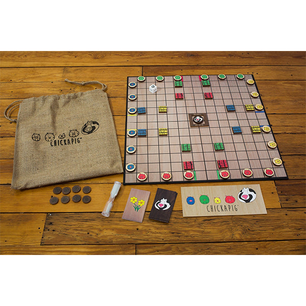 First Edition Chickapig Game - Burlap Bag