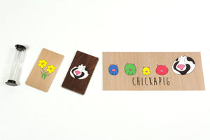 First Edition Chickapig Game - Custom Box