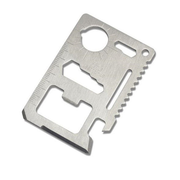 Credit Card Size Multi-Tool (FREE + Shipping) - ENOK Outdoor Survival Gear