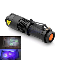 Ultra-Violet Animal Tracker / UV Tactical Flashlight (FREE + Shipping) - ENOK Outdoor Survival Gear