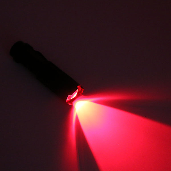 Red Light Tactical Flashlight - Wildlife Friendly (FREE + Shipping) - ENOK Outdoor Survival Gear