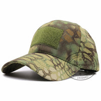 Tactical Ball Cap with Patch Area