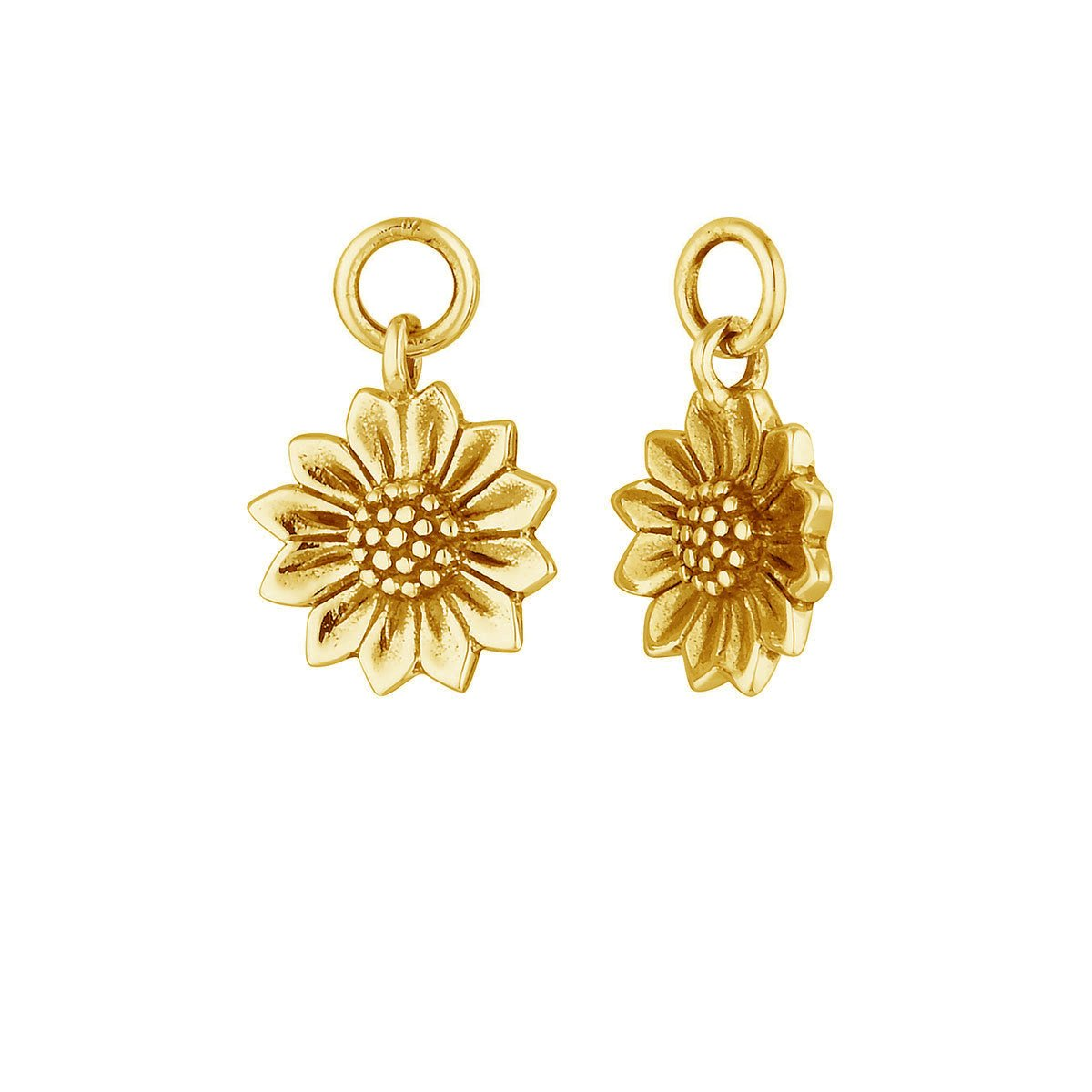 Dainty Sunflower Ear Charms