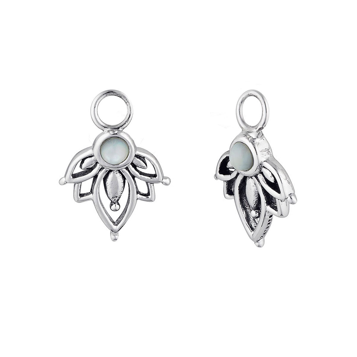Lotus Pearl Ear Charms