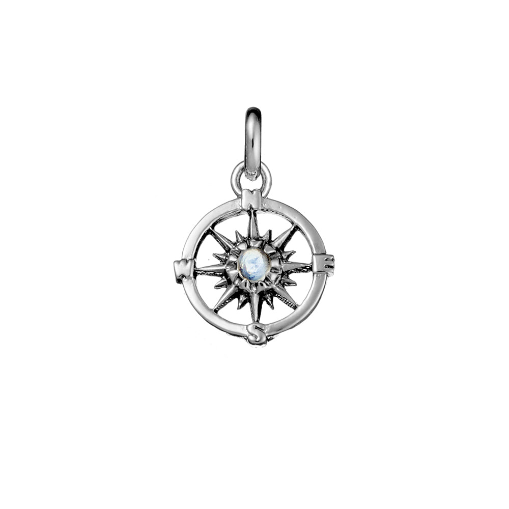 Guiding Light Compass Neck Charm