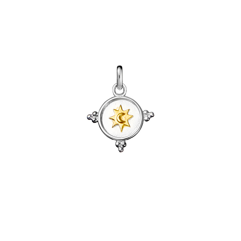 Celestial Shield Neck Charm