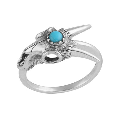 Third Eye Ram Skull Ring - Midsummer Star  - 2