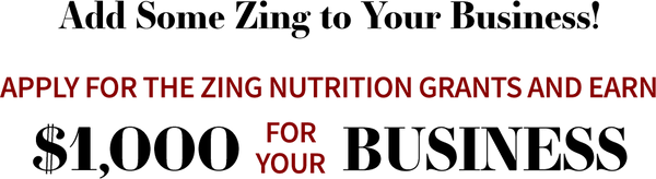 Feature Image for Call to Dietetics Professionals: Apply for the Zing Nutrition Grant!