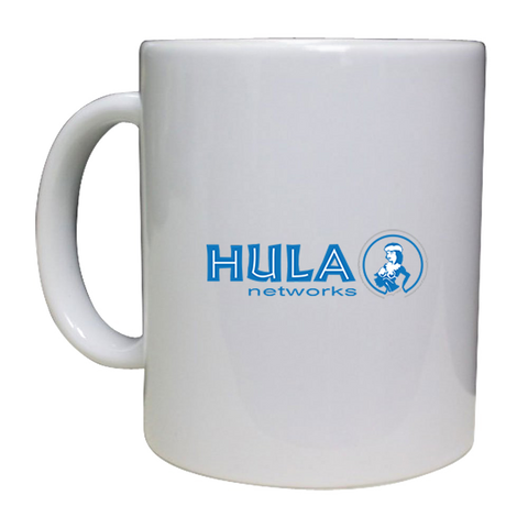 Hula 12 oz ceramic coffee mug