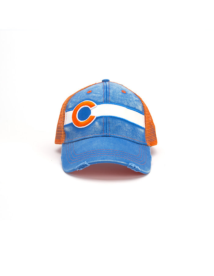 Vintage Broncos Fan Hat