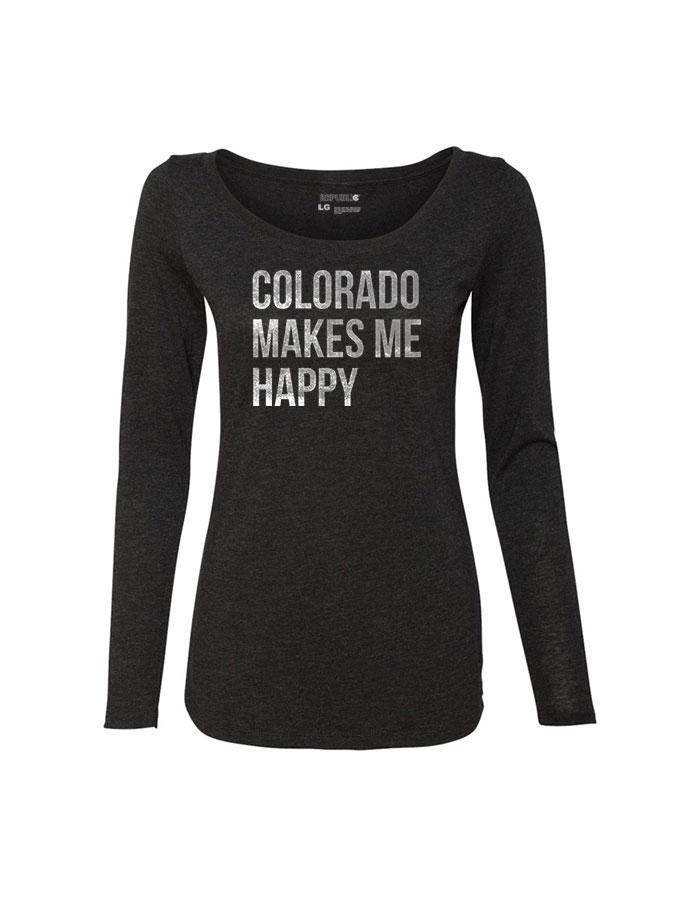 Colorado Make Me Happy - Long Sleeve