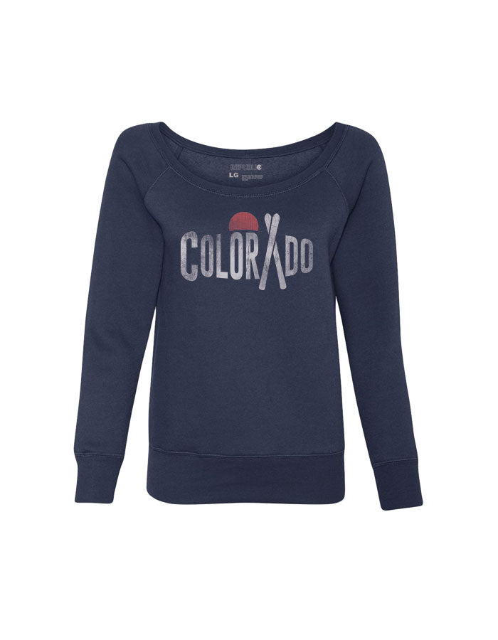 Colorado Ski Sweatshirt