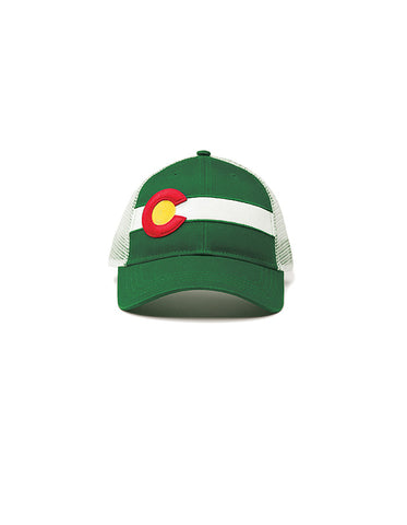 Single Stripe Hat - Kelly Green