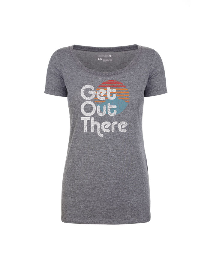 Girls Get Out There - Premium Heather