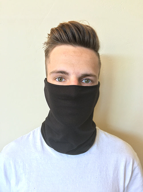Republic Clean Neck Gaiter, repurposed bandana, bandana, face covering, face mask, neck gaiter