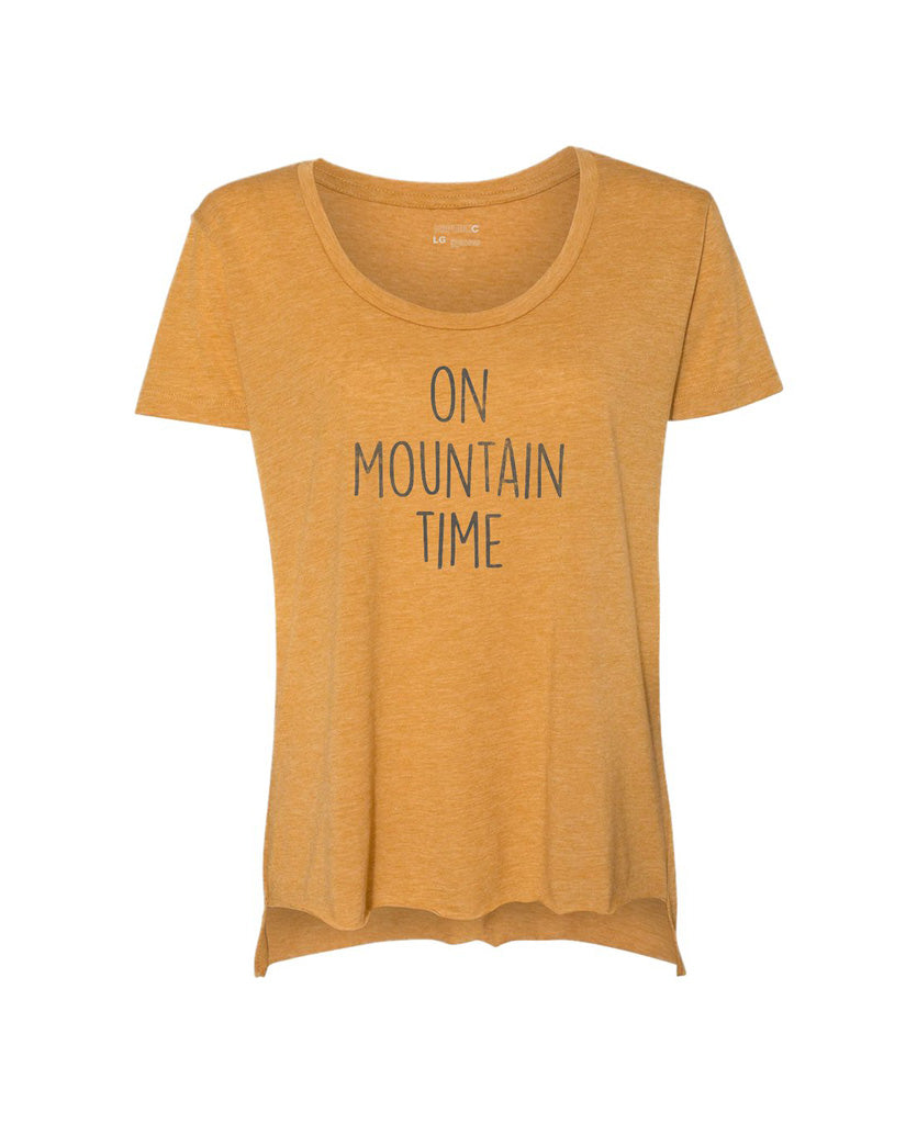 On Mountain Time - Antique Gold