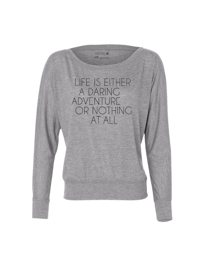 Daring Adventure - Women - Long Sleeve - Athletic Heather