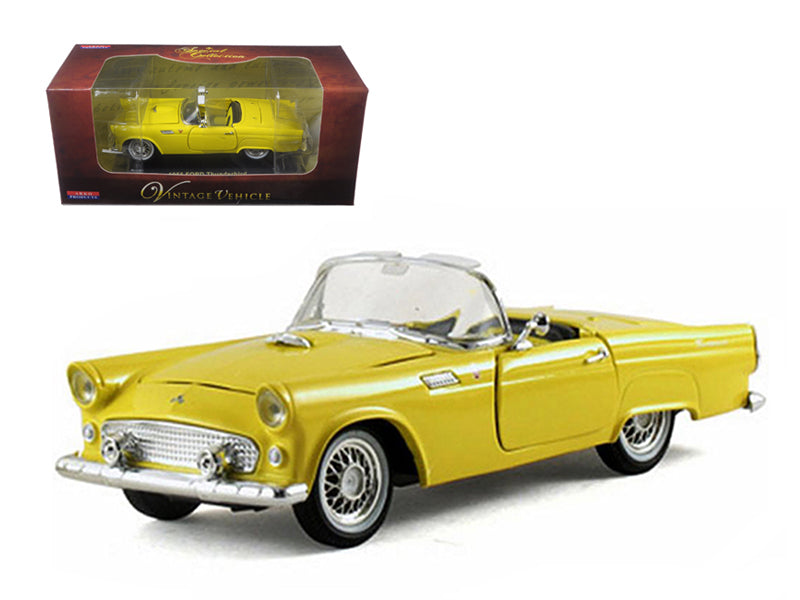 1955 Ford Thunderbird Convertible Yellow 1/32 Diecast Car Model by Arko Products - BeTovi&co