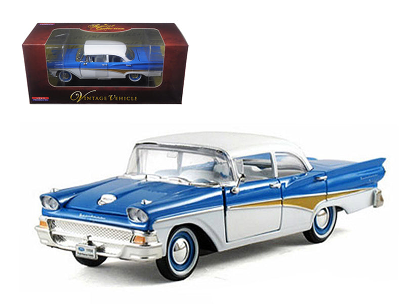 1958 Ford Fairlane Blue 1/32 Diecast Car Model by Arko Products - BeTovi&co