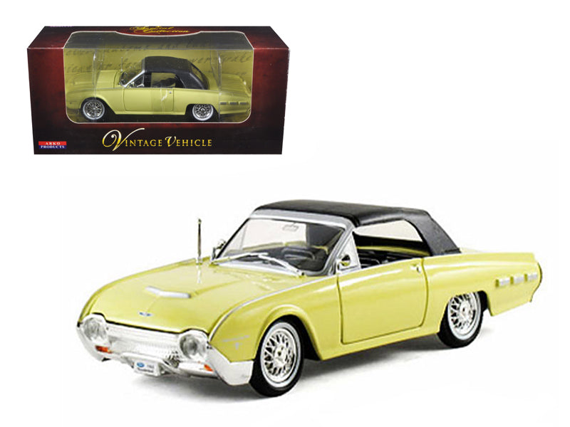 1962 Ford Thunderbird Yellow 1/32 Diecast Car Model by Arko Products - BeTovi&co