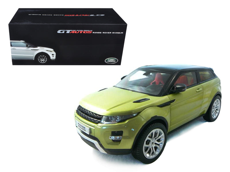 Range Rover Evoque Green 1/18 Diecast Car Model by Welly - BeTovi&co