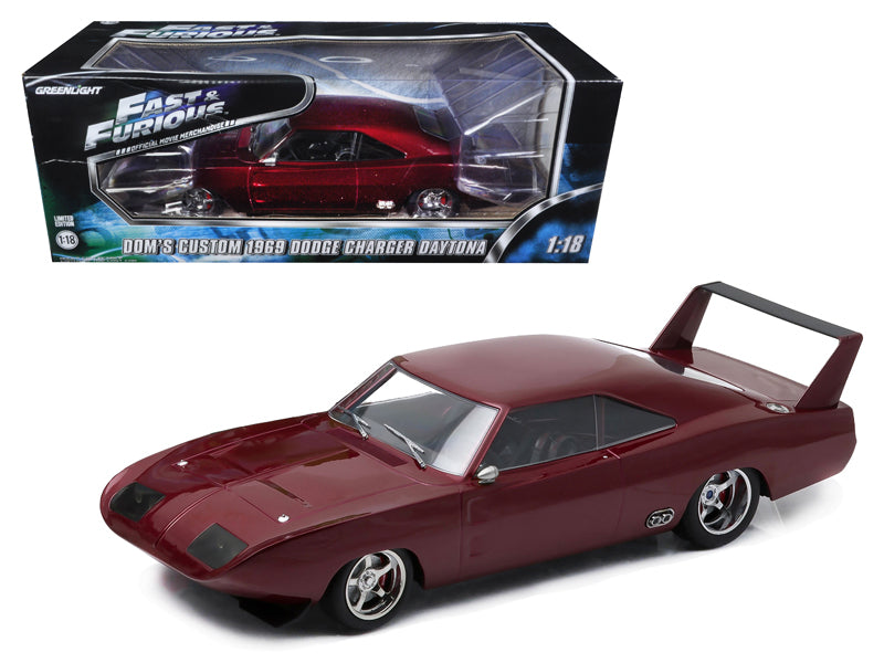 1969 Dom - BeTovi&cos Dodge Charger Daytona Custom 'Fast & Furious 6' Movie (2013) in Window Box 1/18 Diecast Model Car by Greenlight - BeTovi&co