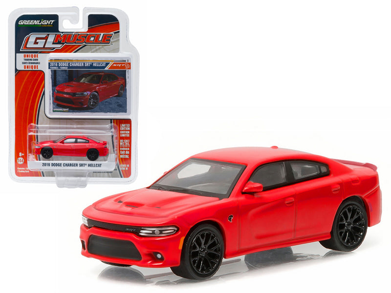 2016 Dodge Charger Hellcat Torred 1/64 Diecast Model Car by Greenlight - BeTovi&co