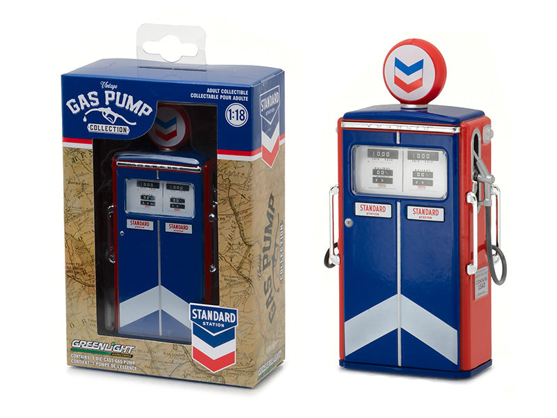 Tokheim 350 Twin Gas Pump Standard Oil Replica - BeTovi&co