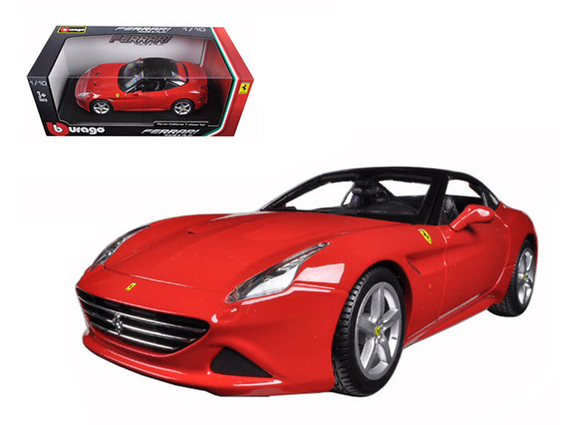 Ferrari California T (closed top) Red 1/18 Diecast Model Car by Bburago - BeTovi&co