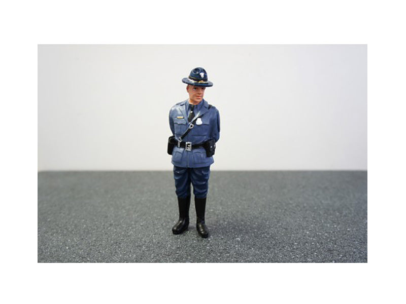 State Trooper Craig Figure For 1:24 Diecast Model Cars by American Diorama - BeTovi&co